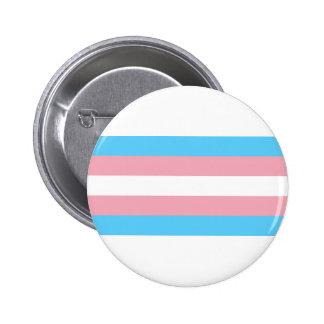 Bandeira do orgulho do Transgender - arco-íris de Bóton Redondo 5.08cm