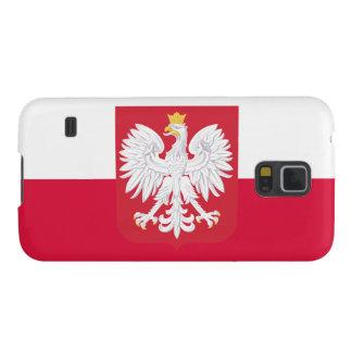 Bandeira do Polônia Capas Par Galaxy S5