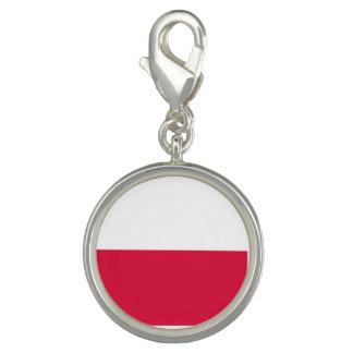 Bandeira do Polônia Pingente