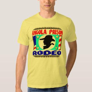 Bandeira do rodeio da prisão de Angola Tshirts