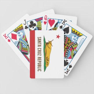 Bandeira do Slug da banana da república de Santa Baralhos De Pôquer