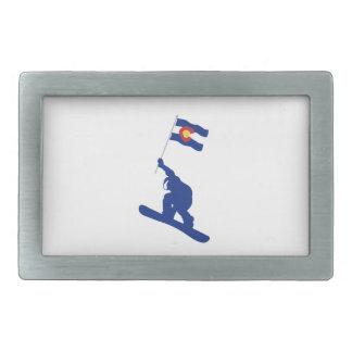 Bandeira do Snowboard de Colorado