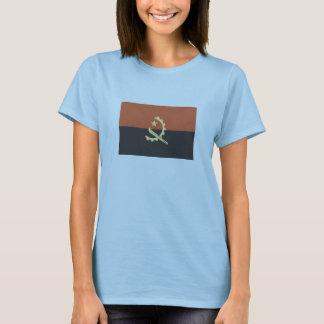 Bandeira do t-shirt de Angola para mulheres Camiseta