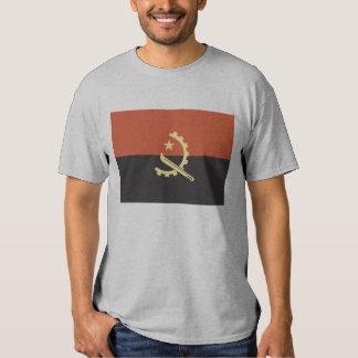 Bandeira do t-shirt dos homens de Angola