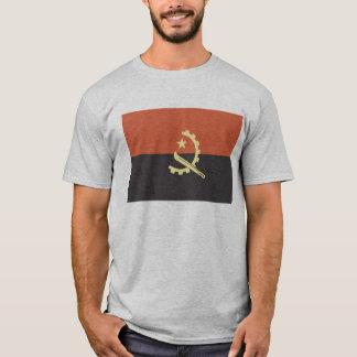 Bandeira do t-shirt dos homens de Angola Camiseta