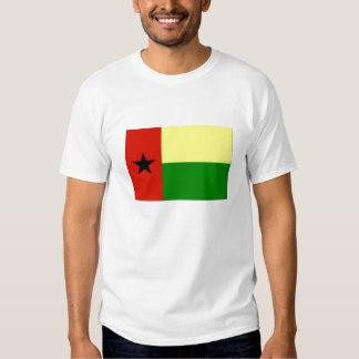 bandeira do t-shirt dos homens de Guiné-Bissau