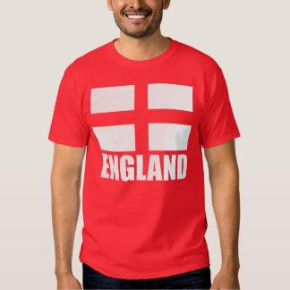 Bandeira do vermelho de Inglaterra Camisetas