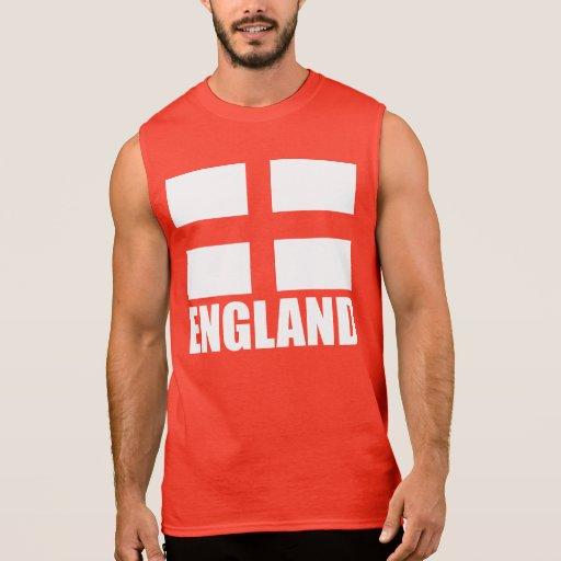 Bandeira do vermelho de Inglaterra Tshirts