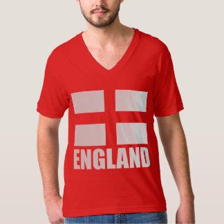 Bandeira do vermelho de Inglaterra Tshirt