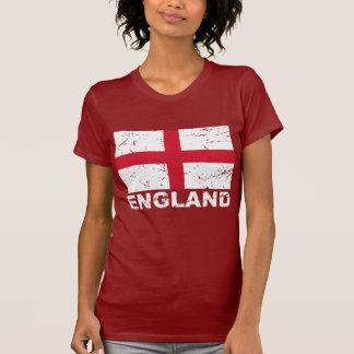 Bandeira do vintage de Inglaterra Tshirts