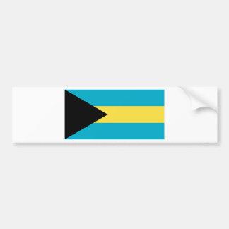 Bandeira dos Bahamas Adesivo Para Carro