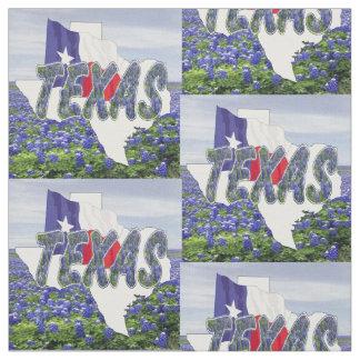 """Bandeira dos Bluebonnets de Texas e tecido 4,5"""" da"""