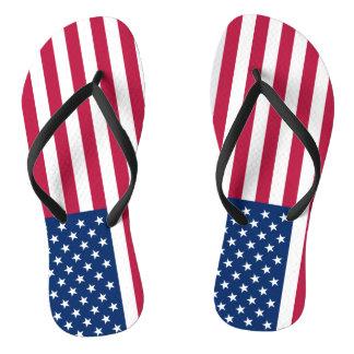 Bandeira dos chinelos dos Estados Unidos