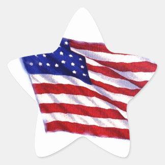 Bandeira dos E.U. Adesito Estrela