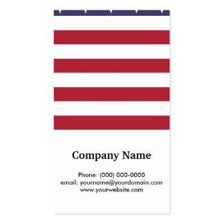 Bandeira dos Estados Unidos americana Cartão De Visita