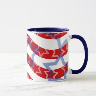 Bandeira dos Estados Unidos Caneca