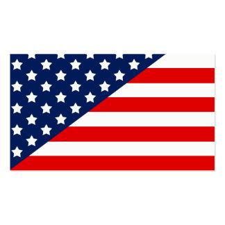 Bandeira dos Estados Unidos Cartão De Visita