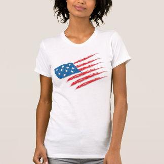 Bandeira dos Estados Unidos dos EUA América Camisetas