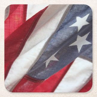 Bandeira dos Estados Unidos Porta-copo De Papel Quadrado