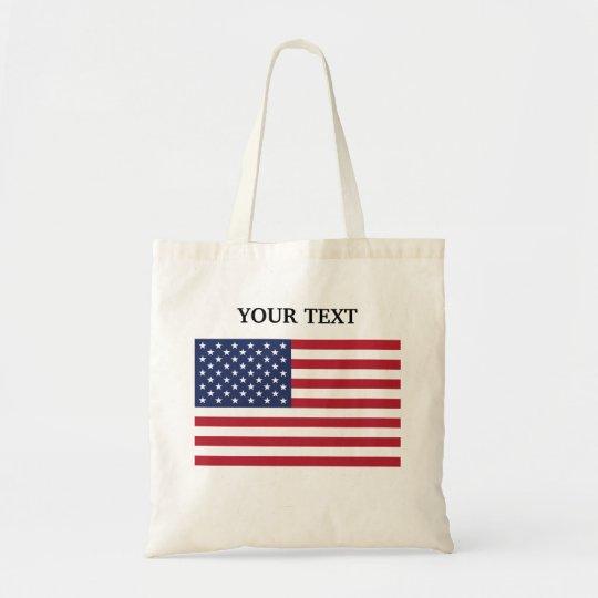 Bandeira dos EUA Bolsa Tote