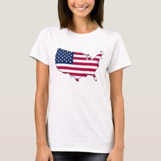 Bandeira dos EUA - camisa