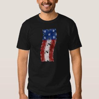 Bandeira dos EUA Camisetas