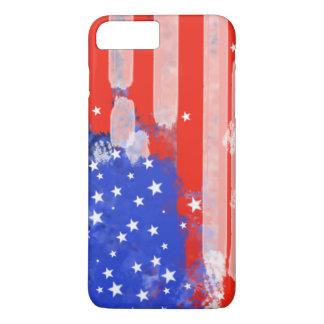 Bandeira dos EUA Capa iPhone 7 Plus