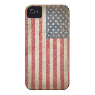 Bandeira dos EUA Capa Para iPhone 4 Case-Mate