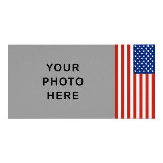 Bandeira dos EUA Cartões Com Fotos