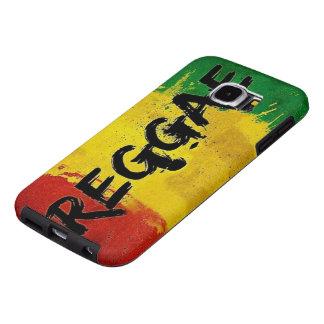 bandeira dos grafites da reggae do rasta capa para samsung galaxy s6