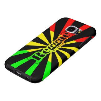 bandeira dos grafites da reggae do rasta capas samsung galaxy s6