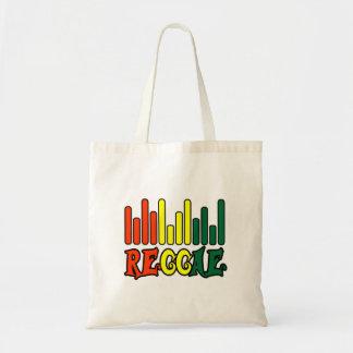 bandeira dos grafites da reggae do rasta sacola tote budget