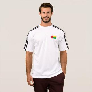 Bandeira dos homens do t-shirt de Guiné-Bissau Camiseta