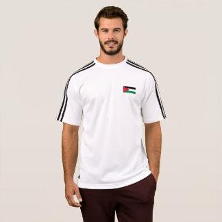 Bandeira dos homens do t-shirt de Jordão Camiseta