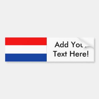 Bandeira dos Países Baixos Adesivo Para Carro