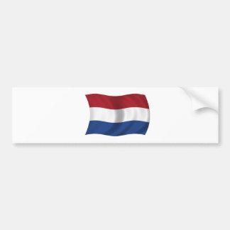 Bandeira dos Países Baixos Adesivo
