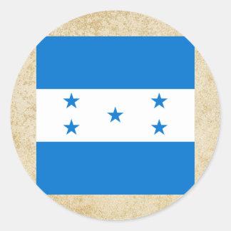Bandeira dourada de Honduras Adesivo