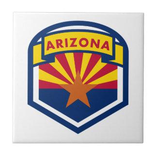 Bandeira e bandeira do estado da arizona