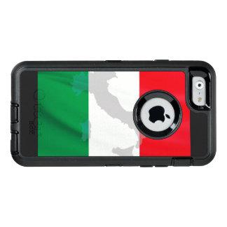 bandeira e Italia italianas
