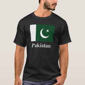 Bandeira e nome de Paquistão Camiseta