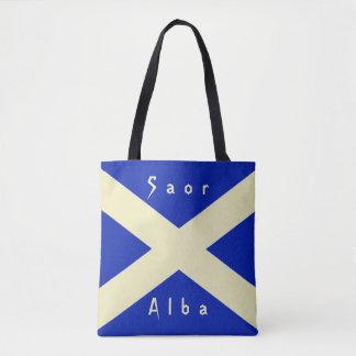 Bandeira escocesa de Scotland da independência Bolsa Tote