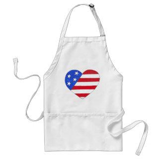 Bandeira EUA avental patriótico americano do