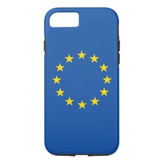 Bandeira européia abstrata, capa de telefone de