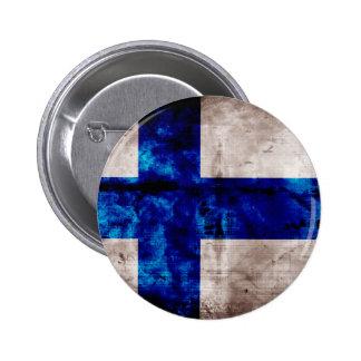 Bandeira finlandesa boton