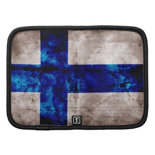 Bandeira finlandesa agenda
