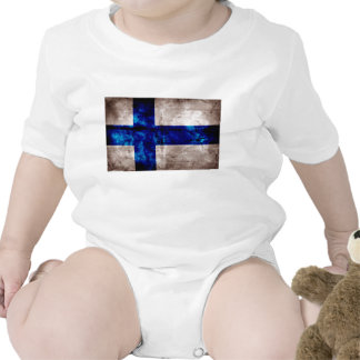 Bandeira finlandesa tshirts