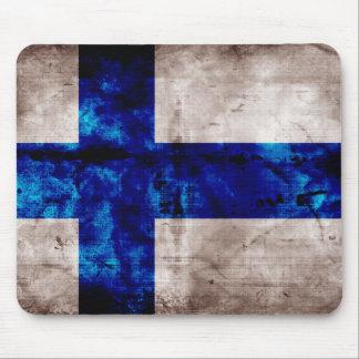 Bandeira finlandesa mousepad