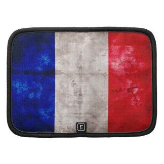 Bandeira francesa organizadores