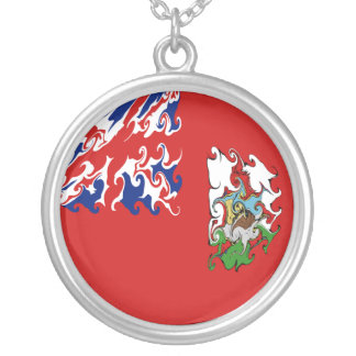 Bandeira Gnarly de Bermuda Pingente
