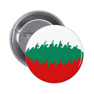 Bandeira Gnarly de Bulgária Bóton Redondo 5.08cm